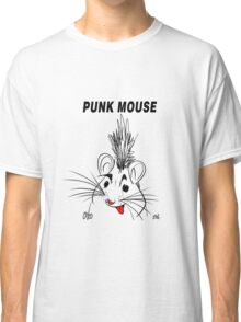 Punk Mouse Design Classic T-Shirt