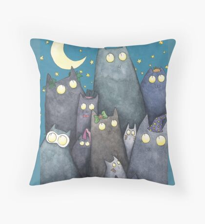 Lots of Cats Throw Pillow