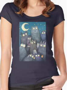 Lots of Cats Women's Fitted Scoop T-Shirt
