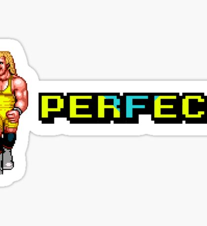 PERFECT 8 BIT Sticker