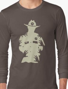 Rick Grimes - The Walking Dead Long Sleeve T-Shirt