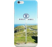 Lands End Cornwall iPhone Case/Skin