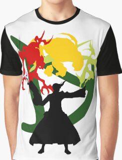 Summoner Egis (Black Silhouette) Graphic T-Shirt