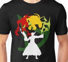 Summoner Egis (White Silhouette) Unisex T-Shirt