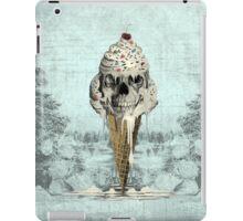 Eternally Sweet, Cremated skull ice cream iPad Case/Skin