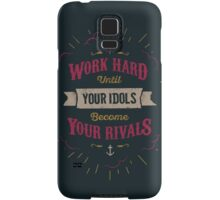 WORK HARD Samsung Galaxy Case/Skin