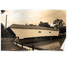 Elizabethton, TN, Covered Bridge, 2008 Poster