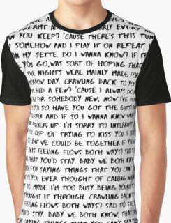 Do I Wanna Know - Arctic Monkeys  Graphic T-Shirt