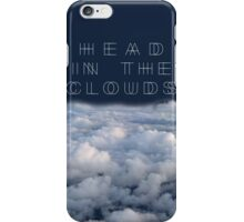 Head In The Clouds iPhone Case/Skin