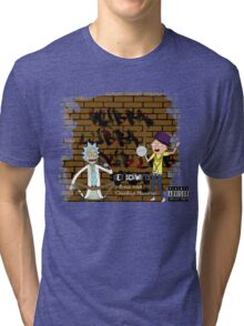 Rick & Morty - Get Schwifty! Tri-blend T-Shirt