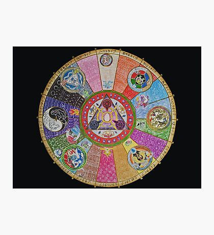 Pokemon Mandala Photographic Print