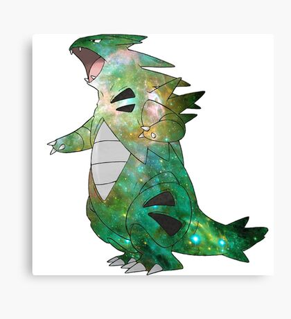 Tyranitar - Pokemon Canvas Print