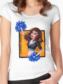 Super Bowl 50 | Go Panthers! Women's Fitted Scoop T-Shirt