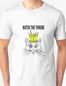 Watch The Throne- Cat Design T-Shirt