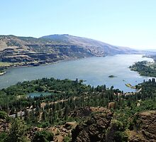 Columbia River Gorgeous by ANDREA PETERSON