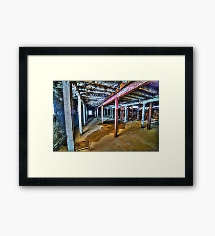 Dystopian factory #3 Framed Print