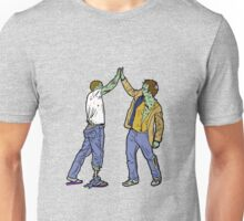 Zombies High-Five Too. Unisex T-Shirt