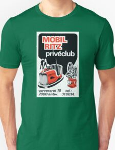 Vintage Club Private Ritz Antwerp Decal T-Shirt
