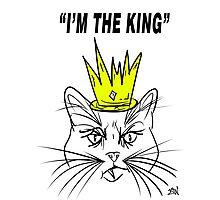 I'm The king - Cat Design Photographic Print