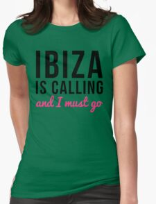 Ibiza Is Calling Music Quote T-Shirt