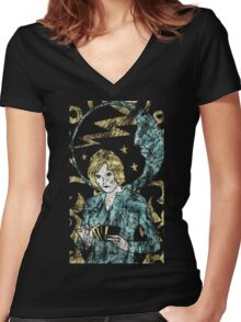 In the Cards by Allie Hartley Women's Fitted V-Neck T-Shirt