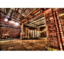 Dystopian factory #4 Photographic Print