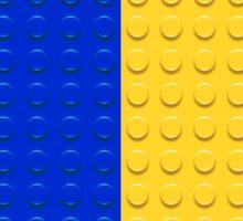 Lego Bricks Stripes Sticker