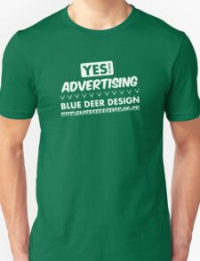 Yes, this is advertising T-Shirt