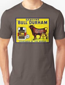 Vintage 1890s Bull Durham tobacco ad T-Shirt