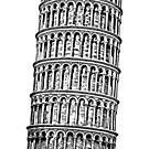 Leaning Tower of Pisa by Edward Fielding