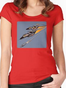 Air Battle Women's Fitted Scoop T-Shirt