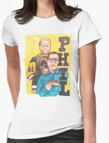 Phil! Womens Fitted T-Shirt