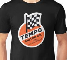 Vintage Oil Motoroil Decal Belgium Tempo Unisex T-Shirt