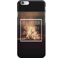 Nicotine - Panic! At The Disco iPhone Case/Skin