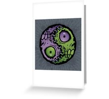Zombie Yin-Yang Greeting Card
