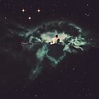 Rowing Through Space by TRASH RIOT