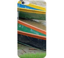 Boats on the Napo River iPhone Case/Skin