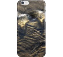 Streaming Water on the Beach iPhone Case/Skin