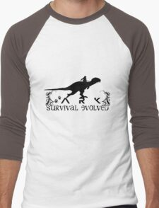 Ark Survival evolved -  Dino Rider Men's Baseball ¾ T-Shirt
