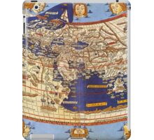 Map of the world 1492 - Claudius Ptolemy: The World iPad Case/Skin