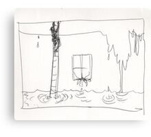 HOLDING UP THE RAIN(C2016) Canvas Print