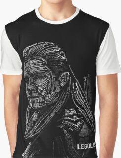 Legolas typography Graphic T-Shirt
