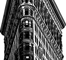 Flat Iron Building NYC Graphic by Edward Fielding