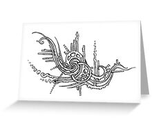 Coralmech Greeting Card