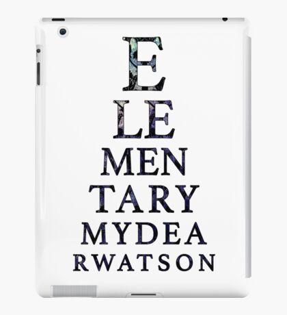 Elementary Dear Watson iPad Case/Skin