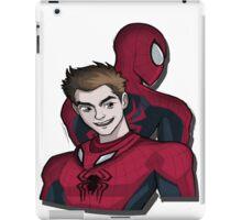The Man Behind Spider-Man iPad Case/Skin