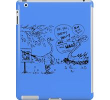 Zoo Humour - Cartoon 0008 iPad Case/Skin