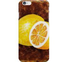 Lemon Decorative Painting iPhone Case/Skin