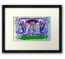 ZOE ELECTRIC Framed Print