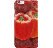 Bell Peppers Decorative Painting iPhone Case/Skin